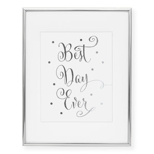 Best Day Ever Foil Art Print