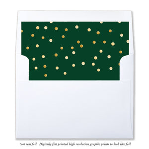 Holiday Envelope Liner