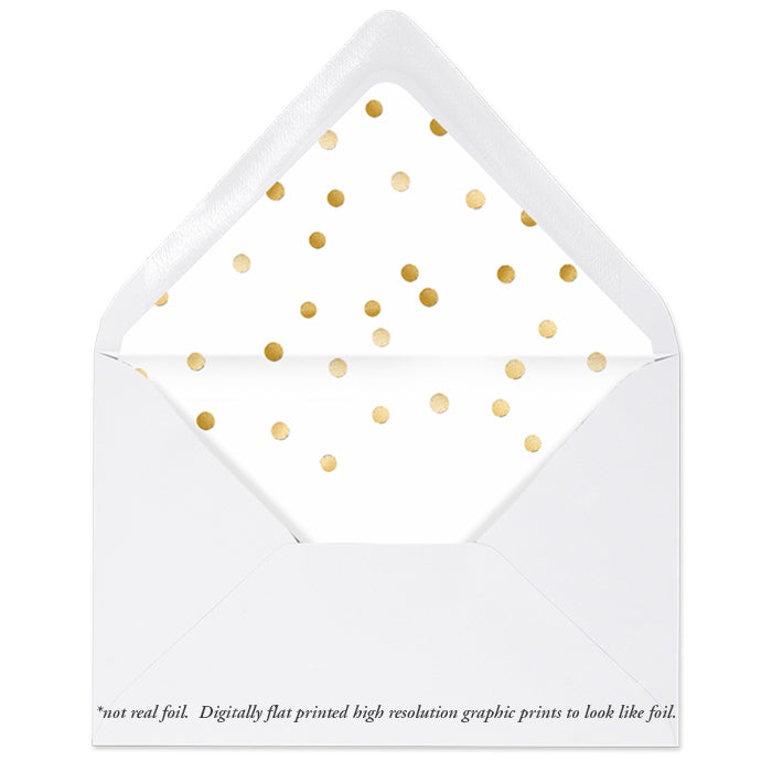 Christmas Envelope Liner