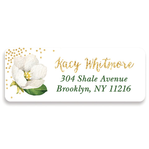 Floral Address Labels | Kacy