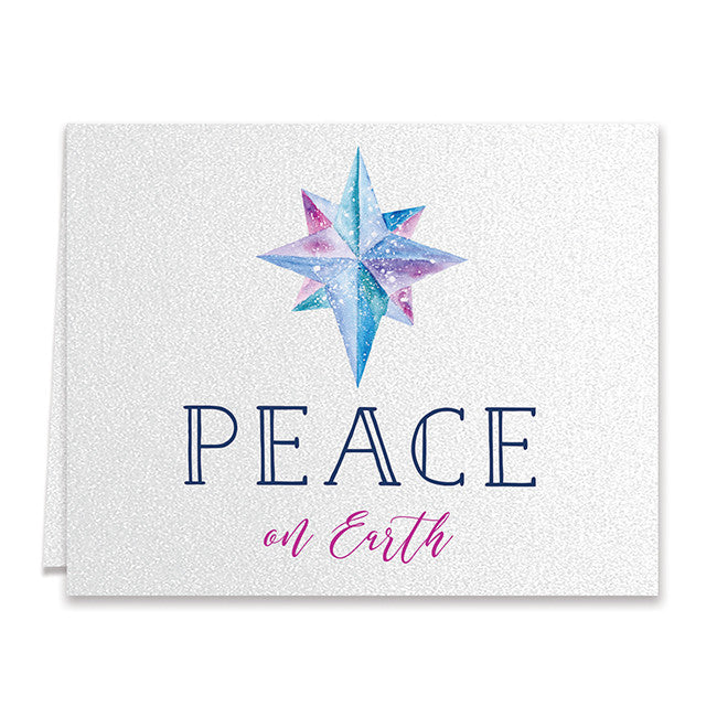 peace on earth christmas cards north star boxed holiday greeting