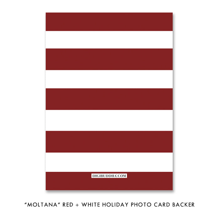 Striped Holiday Backer