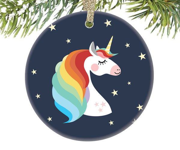 Unicorn Christmas Ornament | 318