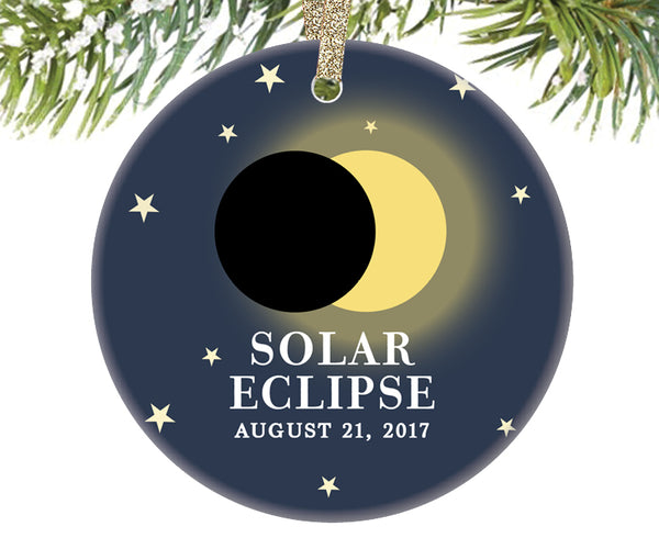 Solar Eclipse 2017 Ornament