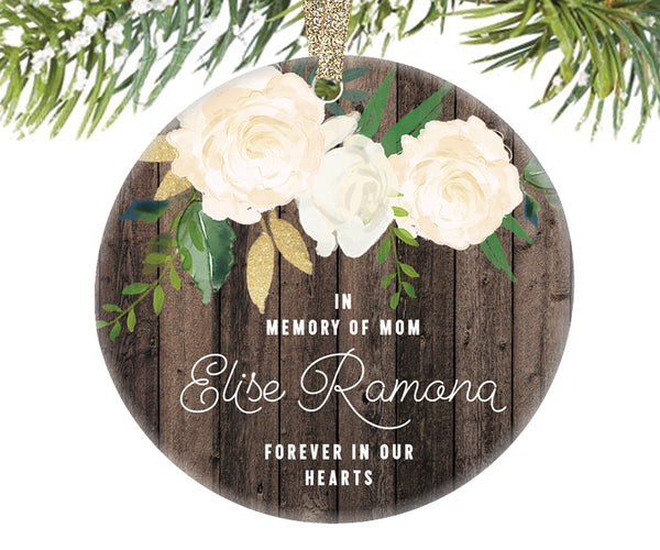 In Loving Memory of Mom Ornament