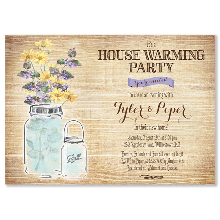 Housewarming Party Invitation Party Stationery