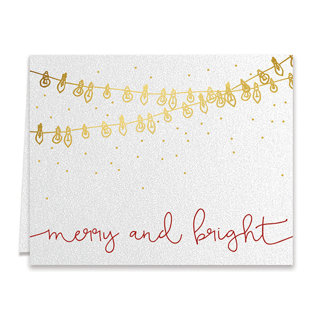 Merry and bright lights christmas cards boxed holiday greeting cards merry and bright lights boxed holiday cards raffa m4hsunfo