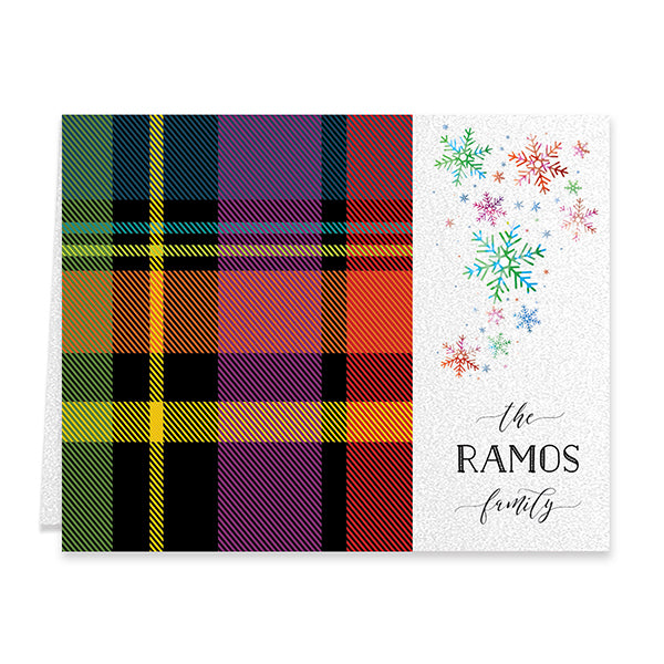 Classic Tartan Personalized Boxed Holiday Cards | Ramos