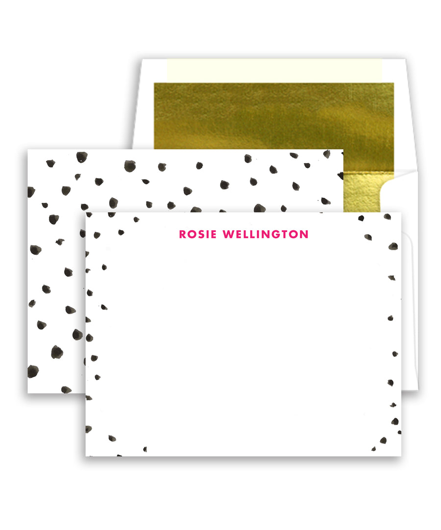 Spotty Dots Personalized Stationery Coll. 20