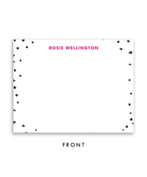 Spotty Dots Personalized Stationery