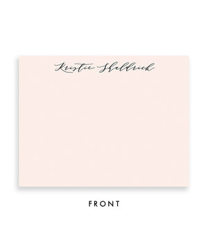 Antique Handwriting Personalized Stationery Coll. 23