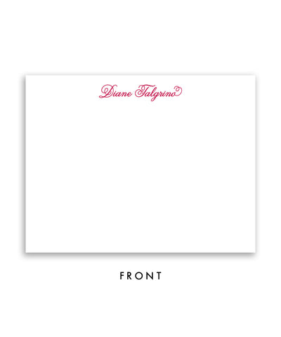 Colorful Blooms Personalized Stationery