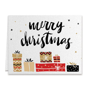 Merry Christmas Presents Boxed Holiday Cards | Thomas