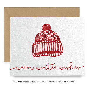 Winter Hat Boxed Holiday Cards | Walton