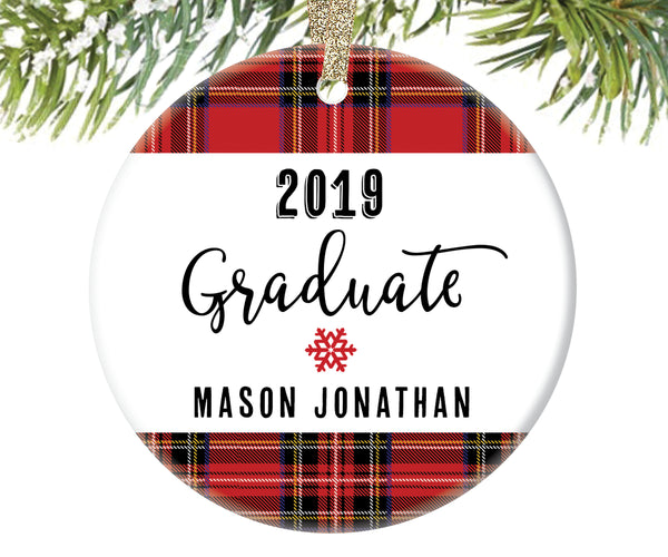 2019 Graduate Christmas Ornament, Personalized | 15