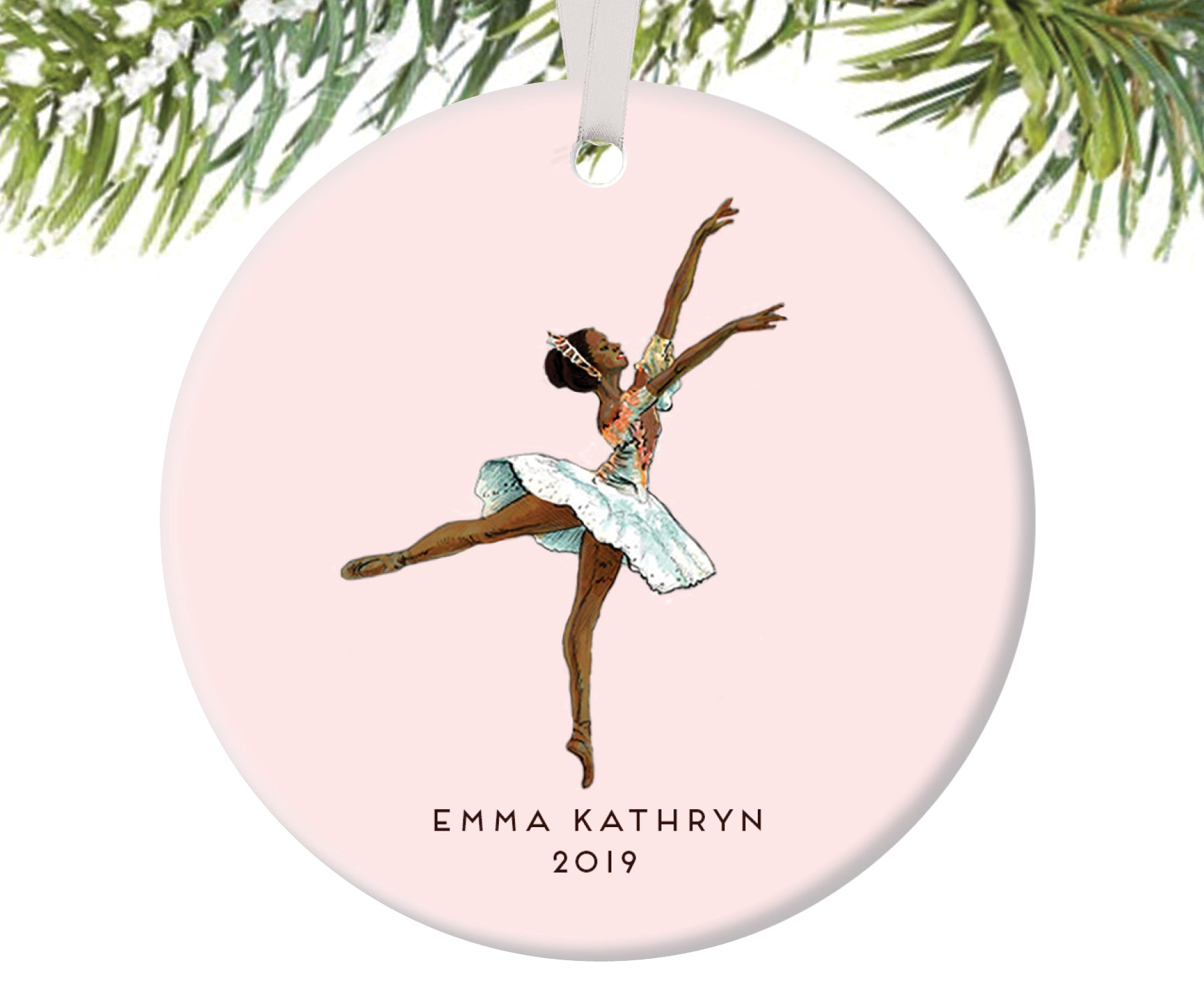 Nutcracker Ballerina Christmas Ornament