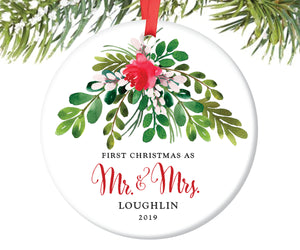 First Christmas as Mr and Mrs Ornament | 44