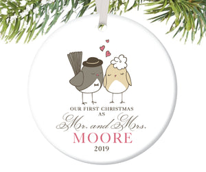 Our First Christmas as Mr and Mrs Ornament, Personalized | 47