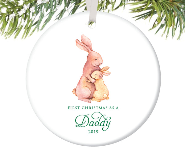 First Christmas as a Daddy Christmas Ornament | 71