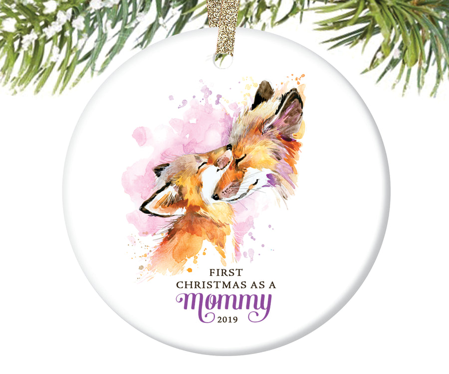 First Christmas as a Mommy Christmas Ornament | 84