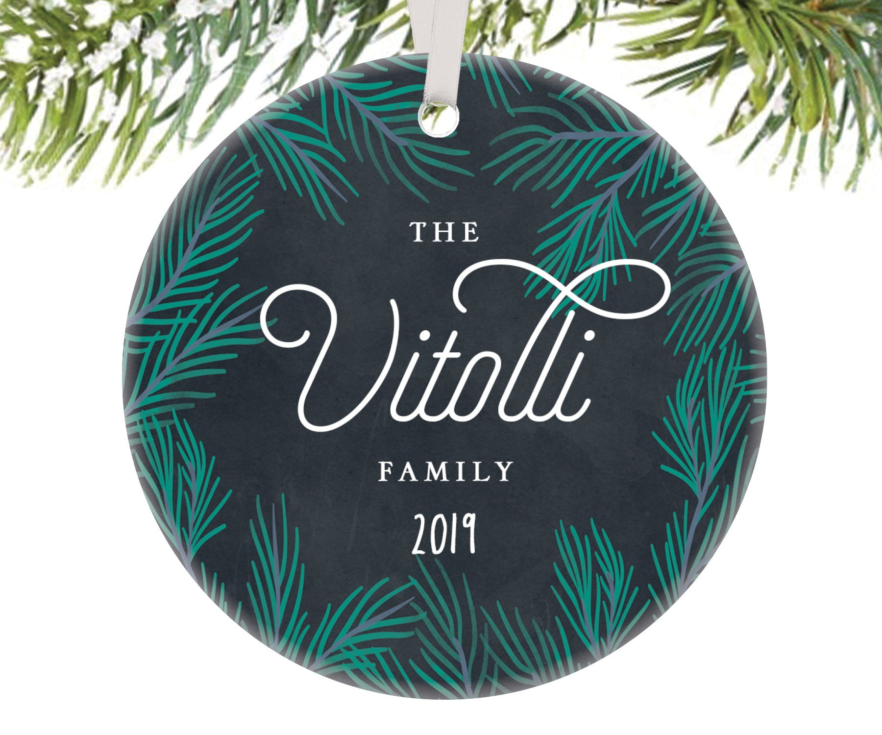 Family Christmas Ornament, Personalized | 94