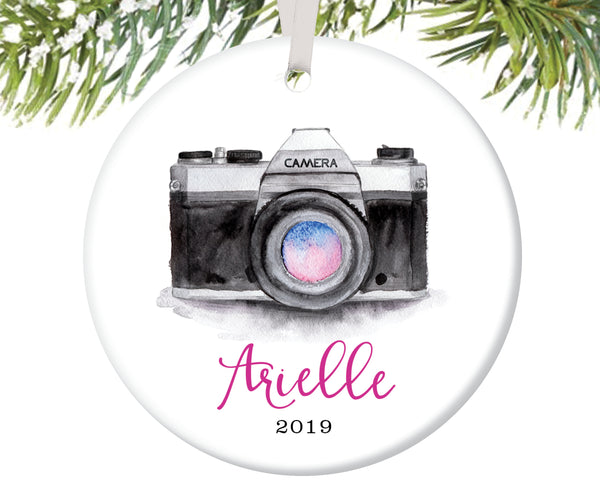 Photography Christmas Ornament, Personalized | 137