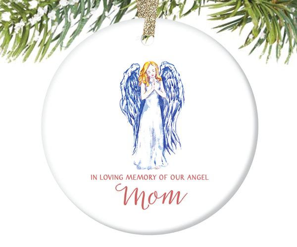 Memorial Christmas Ornament for Mom | 147