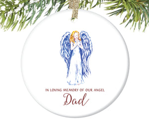 Memorial Christmas Ornament for Dad | 148