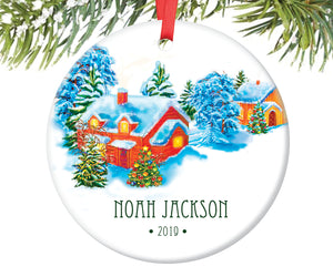 Baby's First Christmas Ornament, Personalized | 220