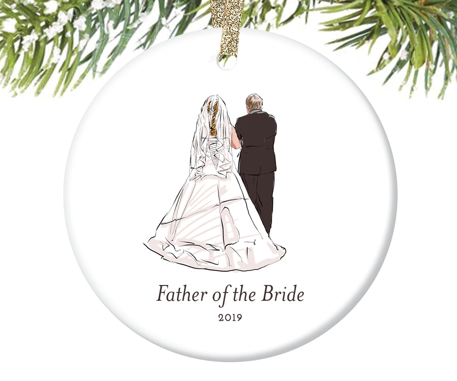 Father of the Bride Christmas Ornament | 317