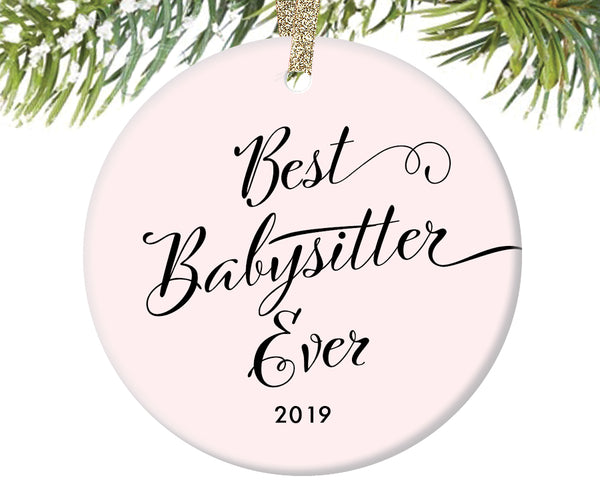 Best Babysitter Ever Christmas Ornament | 321