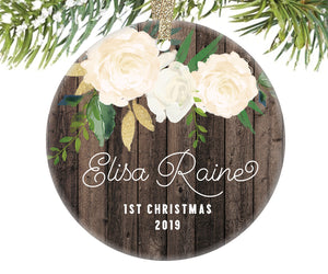 Baby's First Christmas Ornament, Personalized | 339