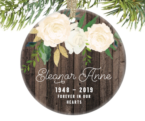 Memorial Christmas Ornament for Grandma, Personalized | 340