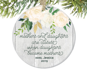 Mother Daughter Christmas Ornament | 349