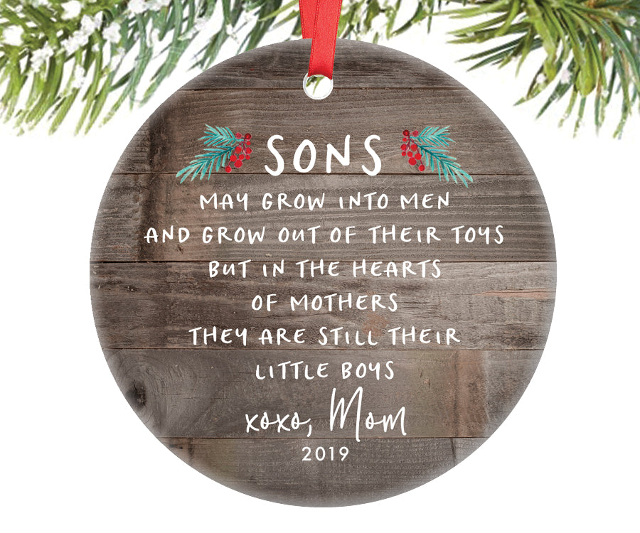Christmas Ornament for Son, Personalized | 358