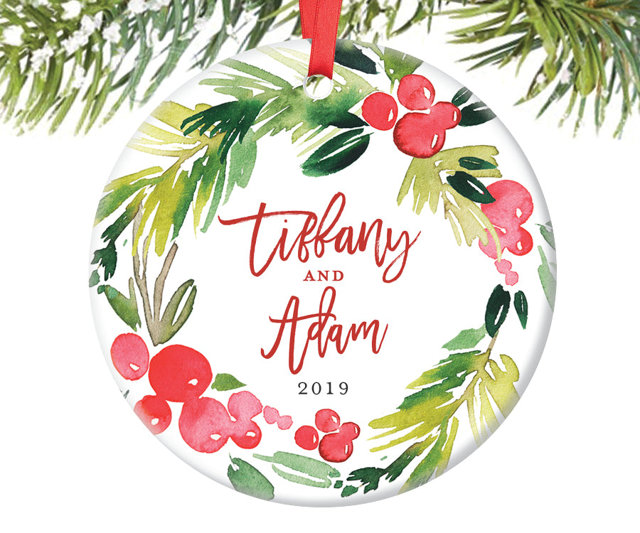 First Christmas Together Ornament, Personalized | 378