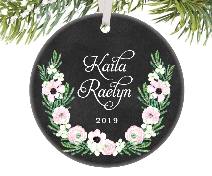 Personalized Name Christmas Ornament | 517