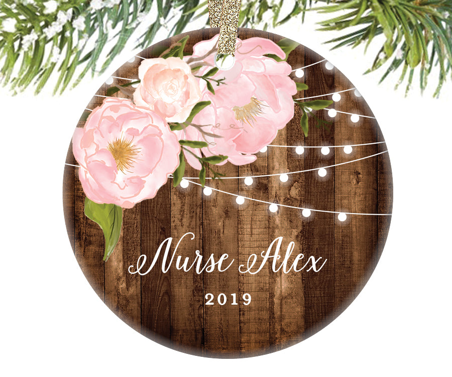 Christmas Ornament for Nurses, Personalized | 569