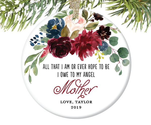 Memorial Christmas Ornament for Mom | 614
