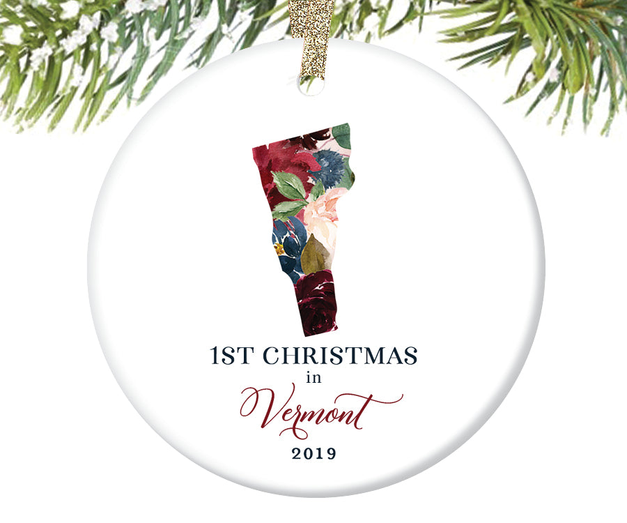 1st Christmas In Vermont Christmas Ornament  |  643