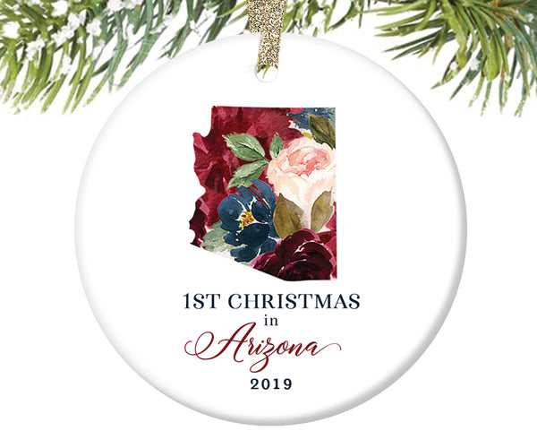 1st Christmas In Arizona Christmas Ornament  |  651