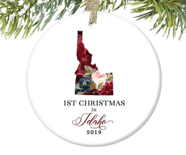 1st Christmas In Idaho Christmas Ornament  |  656