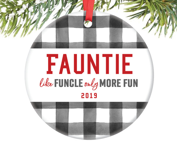 Fauntie Like Funcle Only More Fun Ornament, Personalized | 711