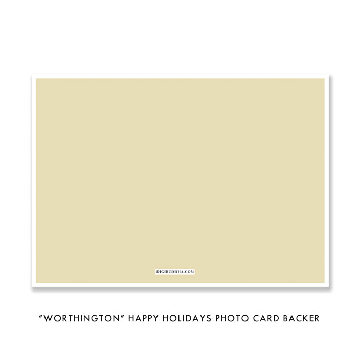 Classic Photo Holiday Card | Worthington