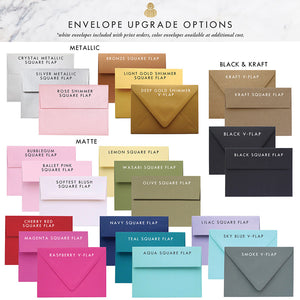 Colorful Envelope Upgrades
