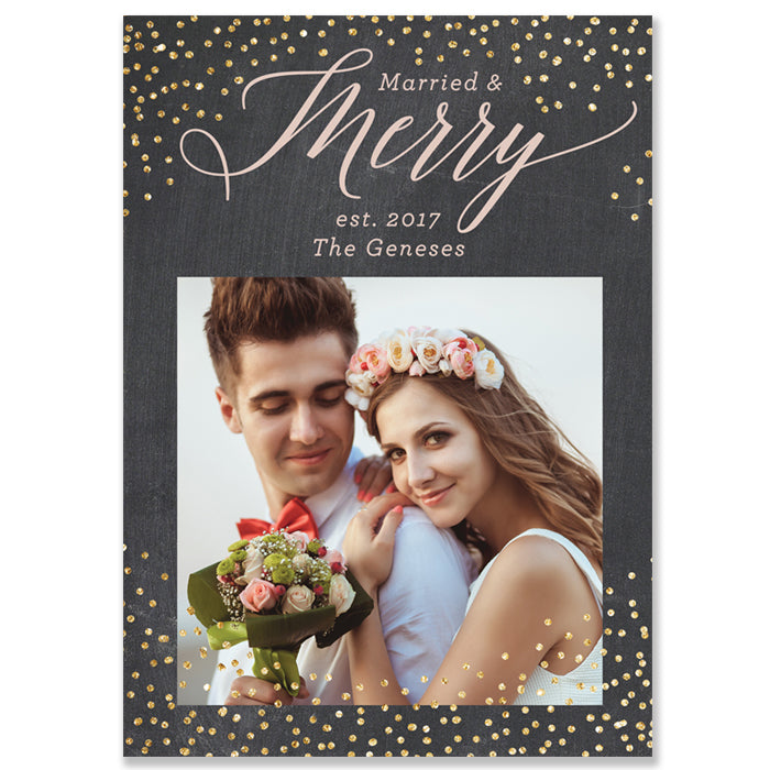 NewlyWed Photo Card