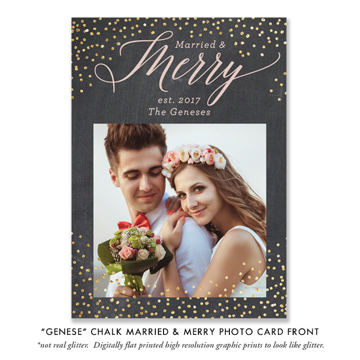 Holiday Wedding Card