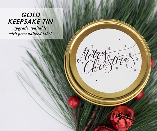 Ornament Keepsake Tin