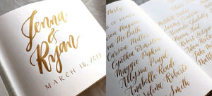 Sunday, April 12th: Calligraphy