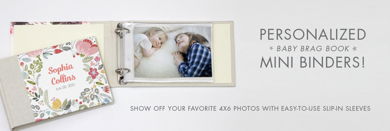 Personalized Baby Brag Books